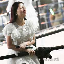 号泣する松井珠理奈/「AKB48 53rdシングル 世界選抜総選挙」AKB48グループコンサート(C)モデルプレス