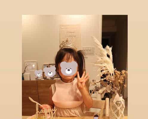 紺野あさ美、長女の誕生日に作ったプリンセスケーキを公開「凄い」「尊敬」の声