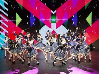 AKB48 Team SH、デビュー曲リリースへ メンバー21名でパフォーマンス披露