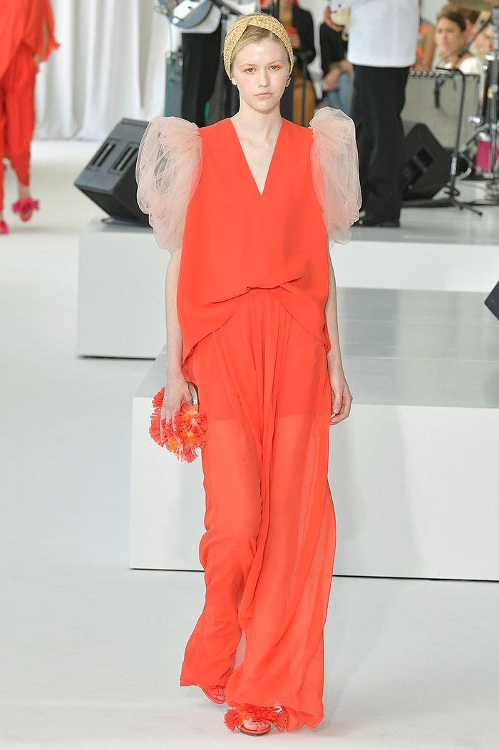 「Delpozo」ニューヨークファッションウィーク Spring/Summer 2018より(Photo by Getty Images)