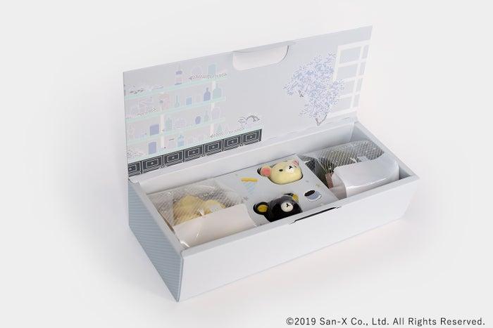 ジェラート ピケ カフェ × リラックマ スイーツボックス (C)2019 San-X Co.,Ltd.All Rights Reserved.