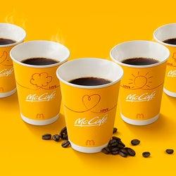 マクドナルド「プレミアムローストコーヒー」約3年ぶりにリニューアル 濃い味わいに進化