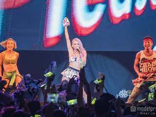 倖田來未、3年連続4回目の台湾公演でハプニング