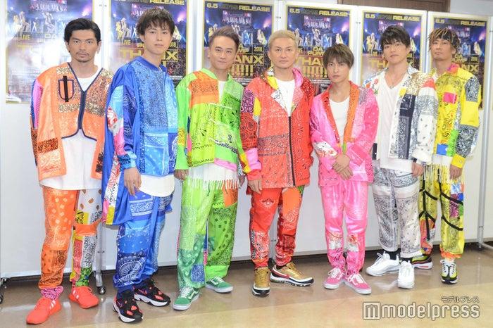 写真左から/U-YEAH、YORI、KIMI、ISSA、DAICHI、KENZO、TOMO(C)モデルプレス