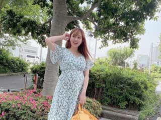 第1子妊娠中の菊地亜美、ふっくらお腹ショットに注目集まる「大きくなってきた」