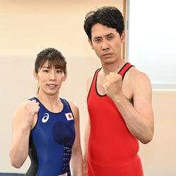 吉田沙保里、大泉洋と対決 本人役で「ノーサイド・ゲーム」出演