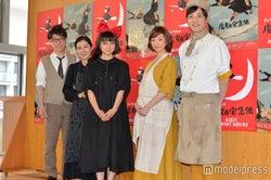 (左から)横山だいすけ、岩崎ひろみ、上白石萌歌、白羽ゆり、藤原一裕(C)モデルプレス