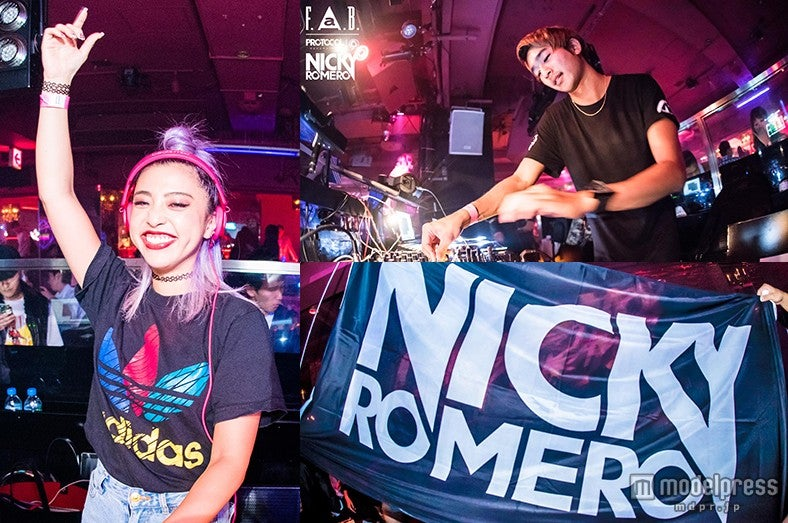 """DJ""植野有砂&湯川正人、""世界DJ第8位""ニッキー・ロメロの魅力を語る【モデルプレス】"