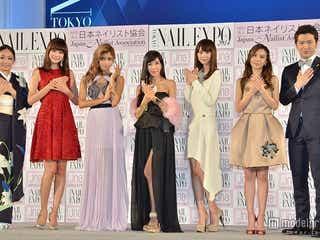 ローラ、ヨンア、桐谷美玲ら豪華ドレスで集結 「ネイルクイーン2014」授賞式