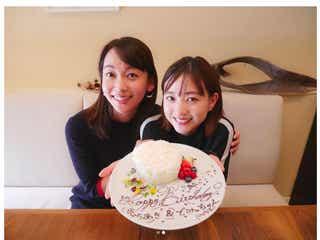高橋愛、伊藤千晃&TBS出水麻衣アナの誕生日を祝福