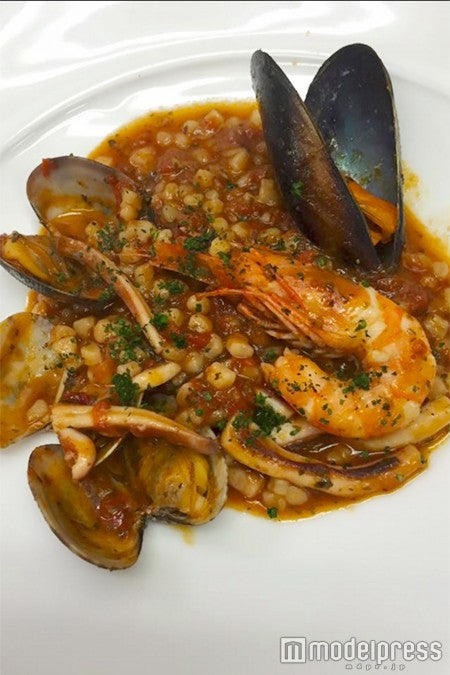 「タベルナ ロンディーノ」/フレーグラ 魚介のトマトソース/画像提供:タベルナ ロンディーノ
