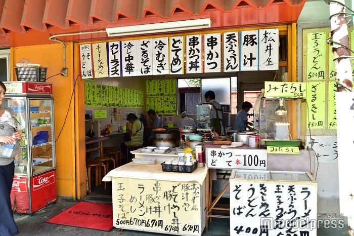 松井屋さんは、食事からちょっとした軽食までメニューが充実