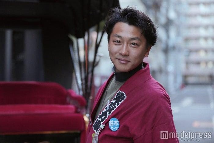 人力車で世界一周を目指す鈴木悠司さん