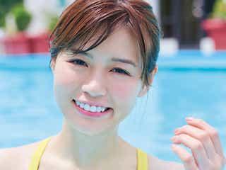 白肌×モッツァレラボディが人気爆発 青学準ミス井口綾子が史上最速記録