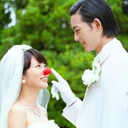 志田未来、竜星涼(C)2016映画「泣き虫ピエロの結婚式」製作委員会