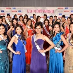 都道府県ナンバー1の美女が華やか集結 圧巻の美貌にうっとり 2014ミス・ユニバース・ジャパン