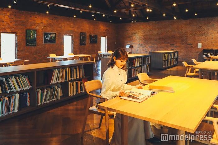 展示室を鑑賞しなくても無料で利用することができるライブラリー (C)モデルプレス