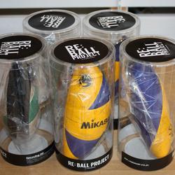 縫製の八橋装院 廃棄されたボールをポーチに