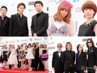 EXILE、E-girls、GLAY、きゃりー、木村カエラらドレスアップで集結 「VMAJ」レッドカーペット<写真特集>