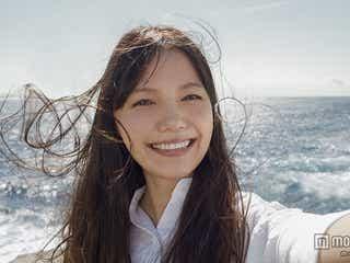 宮崎あおい、爽やか笑顔全開の自撮り写真に「キレイでしょ」