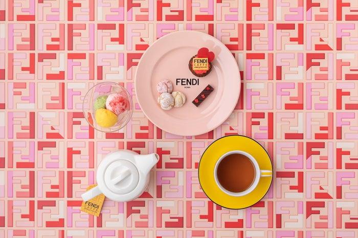 ケーキセット 2,800円(税抜)/画像提供:フェンディ ジャパン
