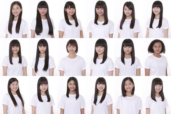 「少女歌劇団」1期生18名(提供写真)