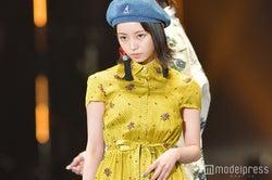 欅坂46今泉佑唯、初ランウェイ 笑顔封印でオーラ全開<TGC2018S/S>