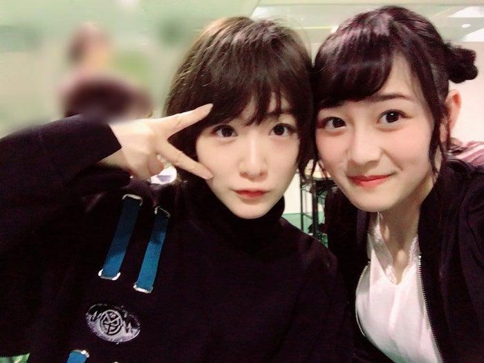 生駒里奈、向井葉月/向井葉月オフィシャルブログより