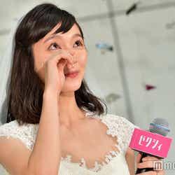 モデルプレス - ゼクシィ9代目CMガールは朝ドラ女優・吉岡里帆 会見で感極まり涙