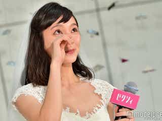 ゼクシィ9代目CMガールは朝ドラ女優・吉岡里帆 会見で感極まり涙
