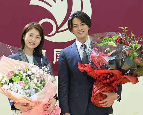 King & Prince平野紫耀・浜辺美波、笑顔でクランクアップ<生徒が人生をやり直せる学校>