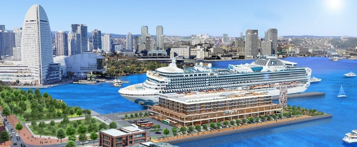 「Yokohama Pier9」完成予想パース/画像提供:野村不動産ホールディングス