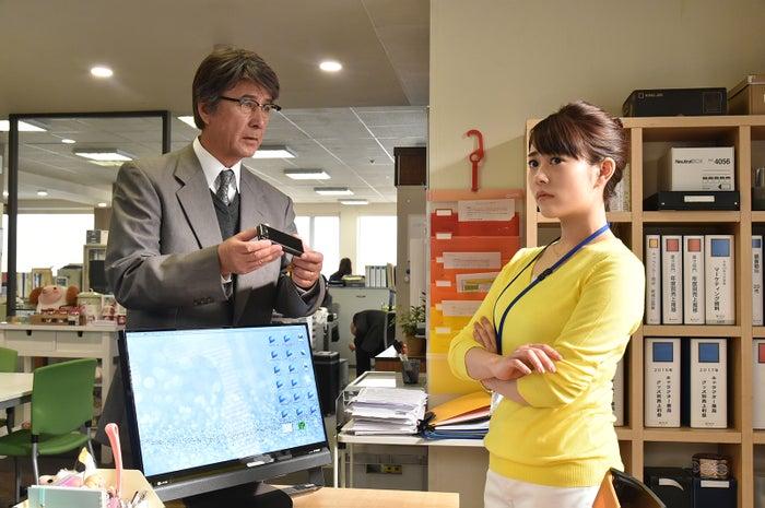 (左から)草刈正雄、高畑充希(写真提供:関西テレビ)