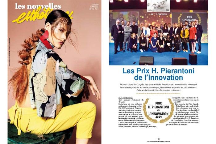「Les Nouvelles Esthetique Spa」2019年6月号に掲載
