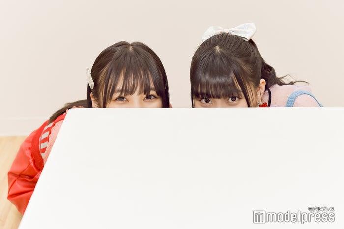 控えめに言っても可愛すぎるなこみく劇場①/矢吹奈子&田中美久 (C)モデルプレス