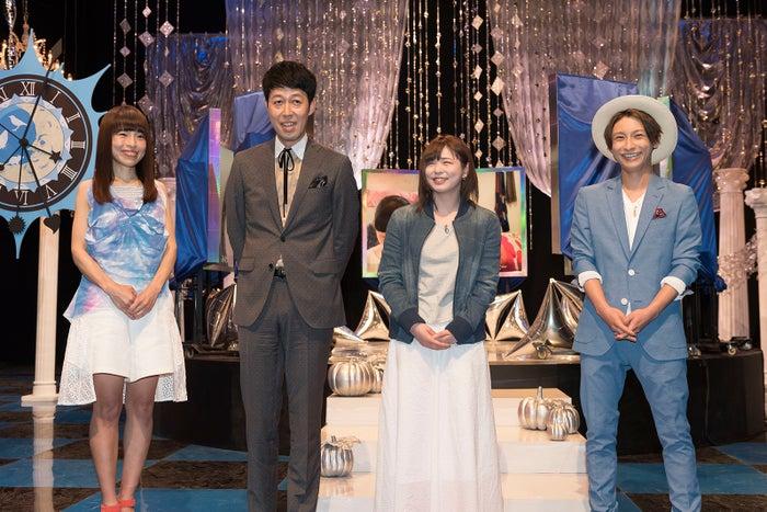 (左から)久保友香、小籔千豊、ayaka.、AAA與真司郎(画像提供:NHK)