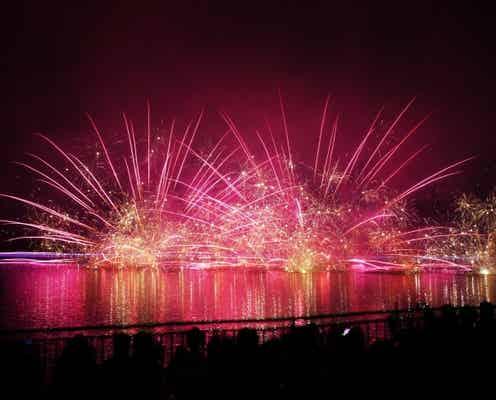 那須りんどう湖レイクビュー「りんどう湖花火大会」2020年は打ち上げ数5,500発に規模拡大