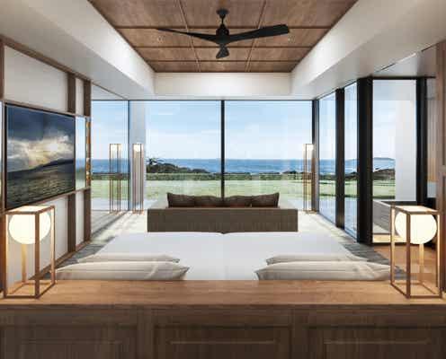 長崎に「五島リトリートray」全室オーシャンビューの新ホテルが2022年夏開業