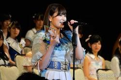 NMB48吉田朱里、大幅ジャンプアップで選抜入り 高橋みなみの名言を「身をもって証明できた」<第9回AKB48選抜総選挙>