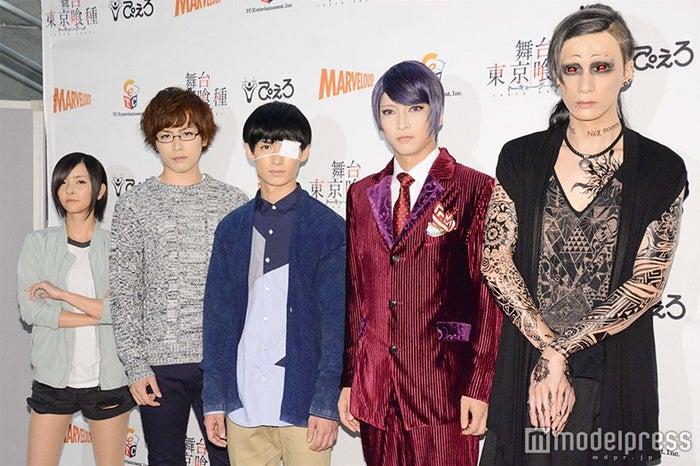 (左から)田畑亜弥、鈴木勝吾、松田凌、佐々木喜英、村田充 (C)モデルプレス