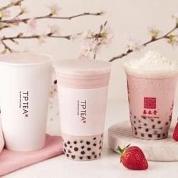 春水堂から新作「タピオカ桜ベリーミルクティー」が登場 桜×ベリーで春色!