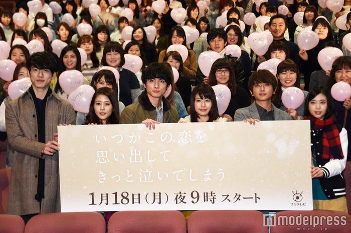 (左から)坂口健太郎、高畑充希、高良健吾、有村架純、西島隆弘、森川葵(C)モデルプレス