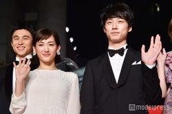 (前列左から)綾瀬はるか、坂口健太郎(C)モデルプレス