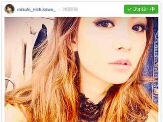 """元「Popteen」西川瑞希の大人イメチェン姿に「別人」と驚きの声 """"美容専属""""モデル就任でさらに進化"""