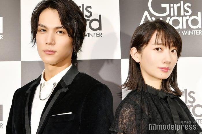 モデルプレスのインタビューに応じた中川大志、波瑠(C)モデルプレス
