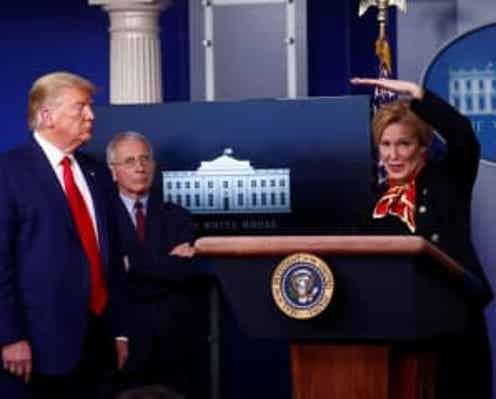 米、新型コロナ作業部会の段階縮小を検討 月末めど=副大統領