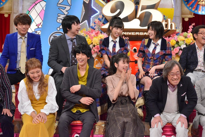 15日放送の「ダウンタウンDX」より (C)読売テレビ
