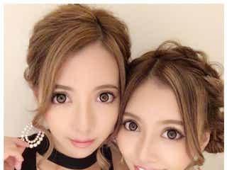 人気双子モデル・吉川ちえ&ちか、そろって整形手術再び「顎がはえたよん」