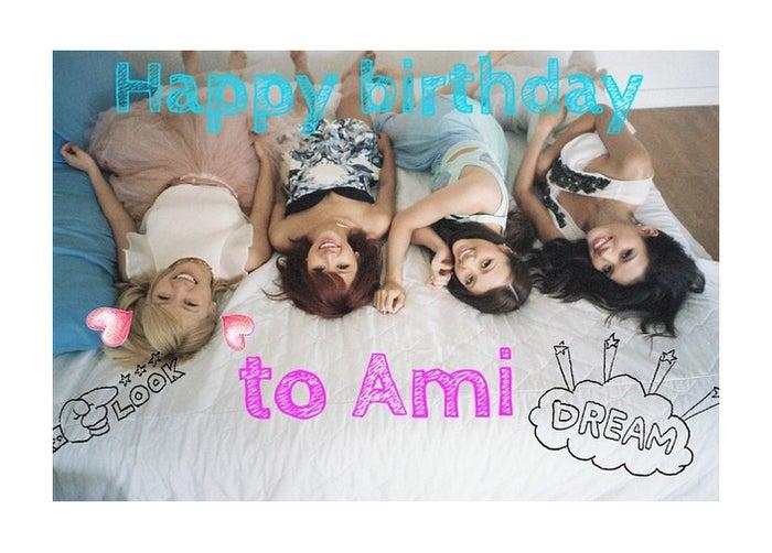 Dreamのメンバー(左から:Ami、Aya、Shuzuka、Erie)/E-girls・Erie Instagramより