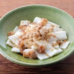 3分で完成!火を使わない簡単レシピ「長芋の梅おかかあえ」